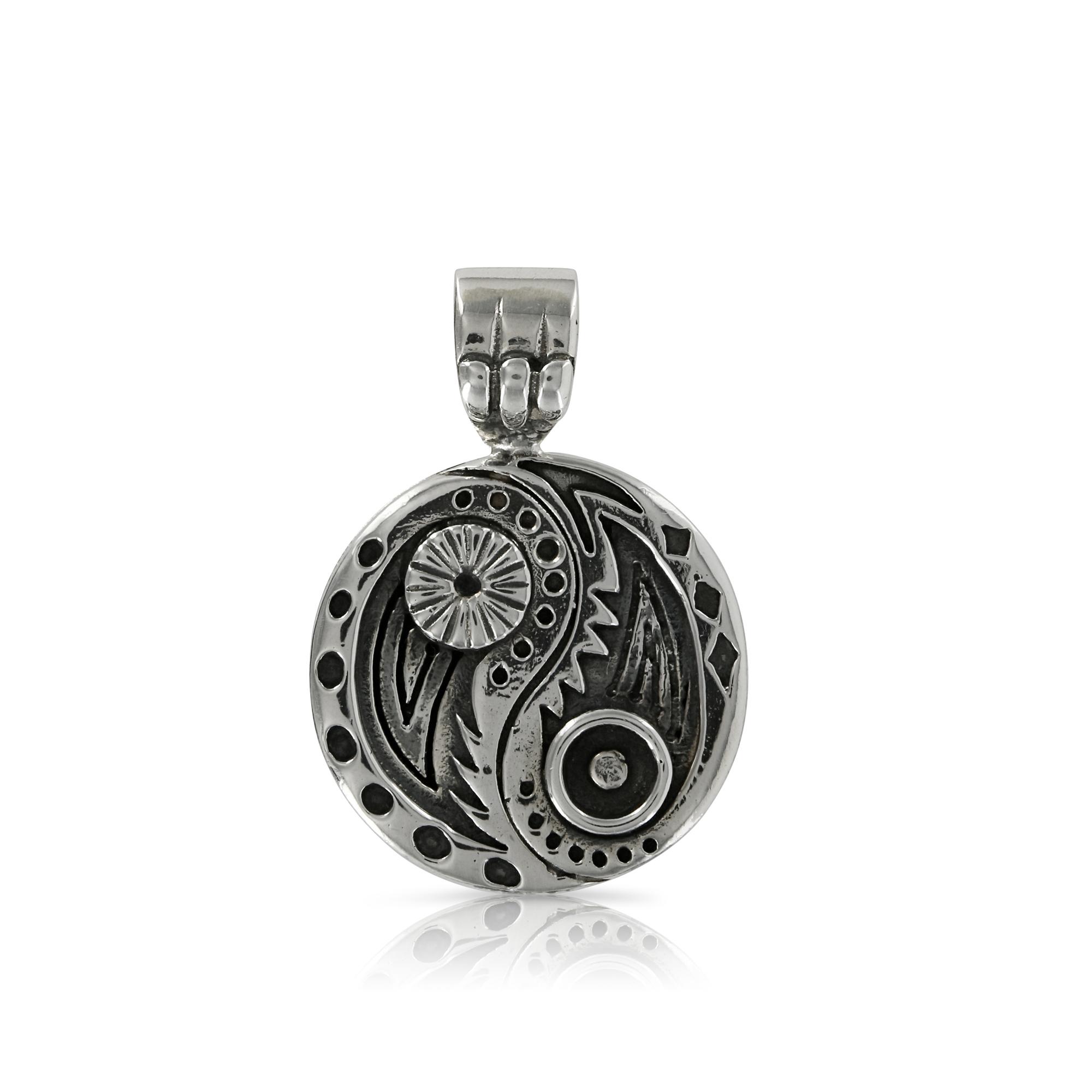 Silver yin yang pendant prey jewellery silver yin yang pendant by prey jewellery aloadofball Choice Image