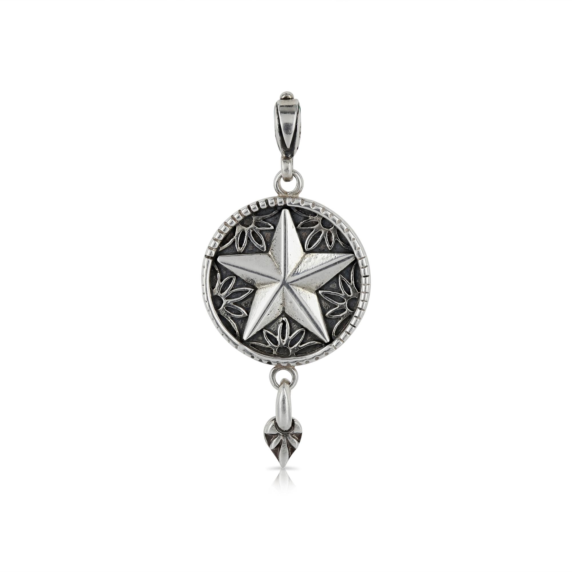 Silver star pendant prey jewellery silver star pendant by prey jewellery aloadofball Choice Image