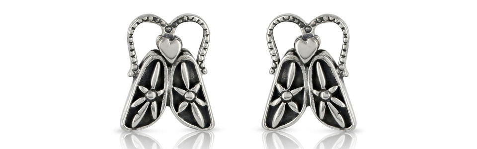 Bug Earings by Prey Jewellery