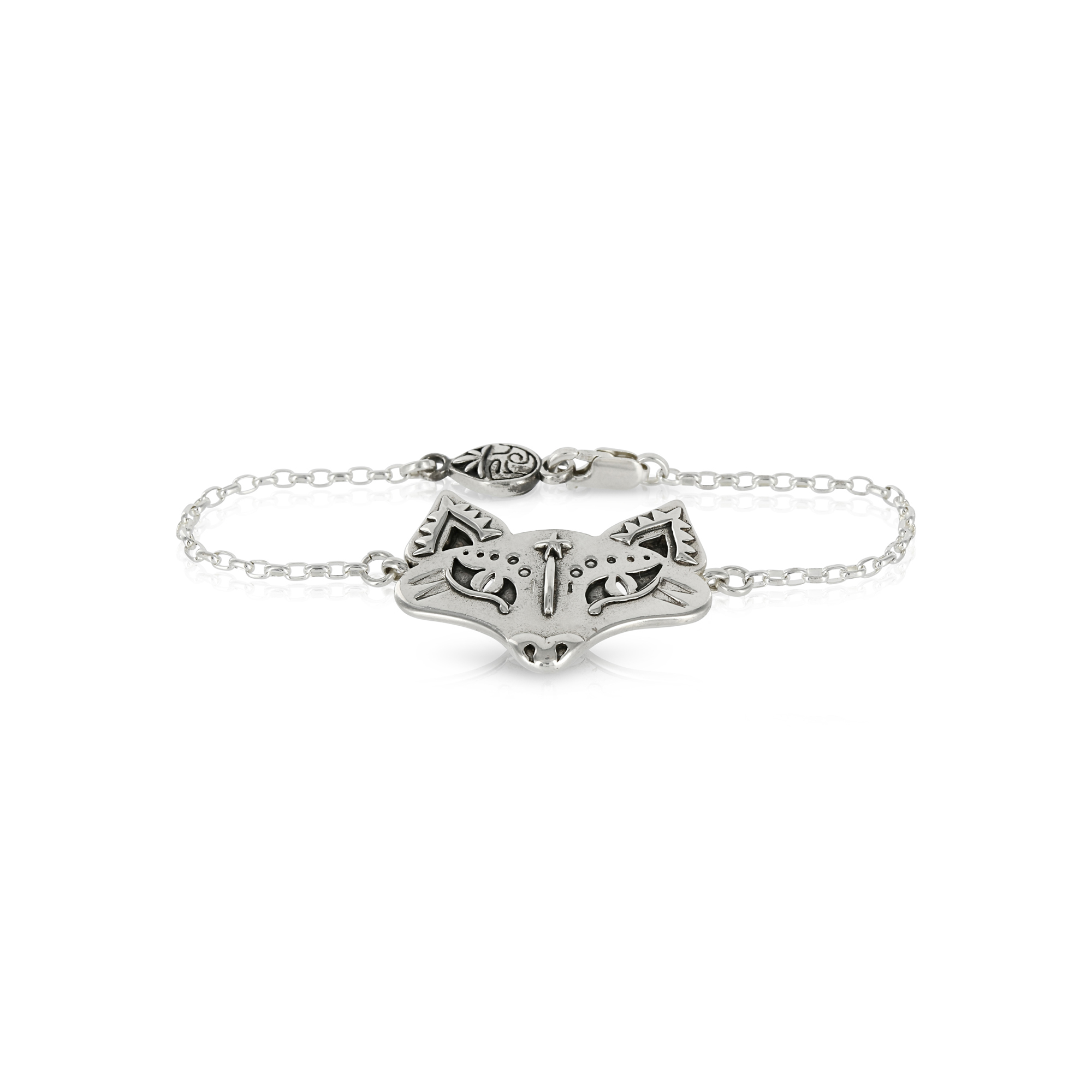 Silver Fox Bracelet by Prey Jewellery