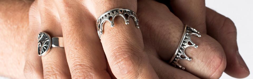 Rings by Prey Jewellery